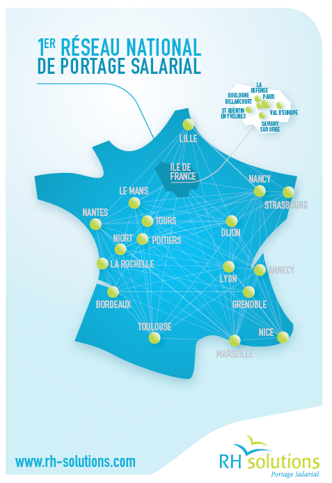 carte france agence portage salarial